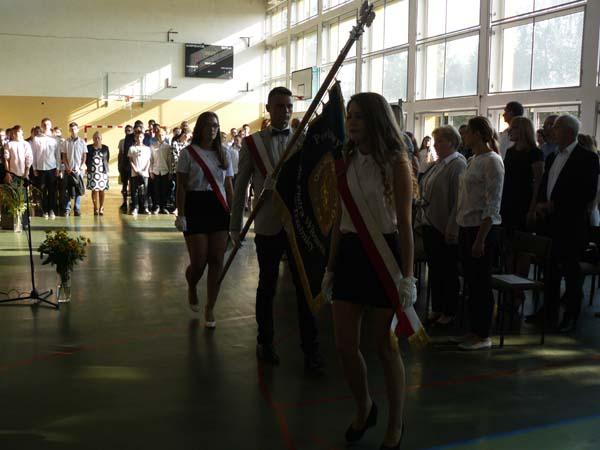 Inauguracja nowego roku szkolnego