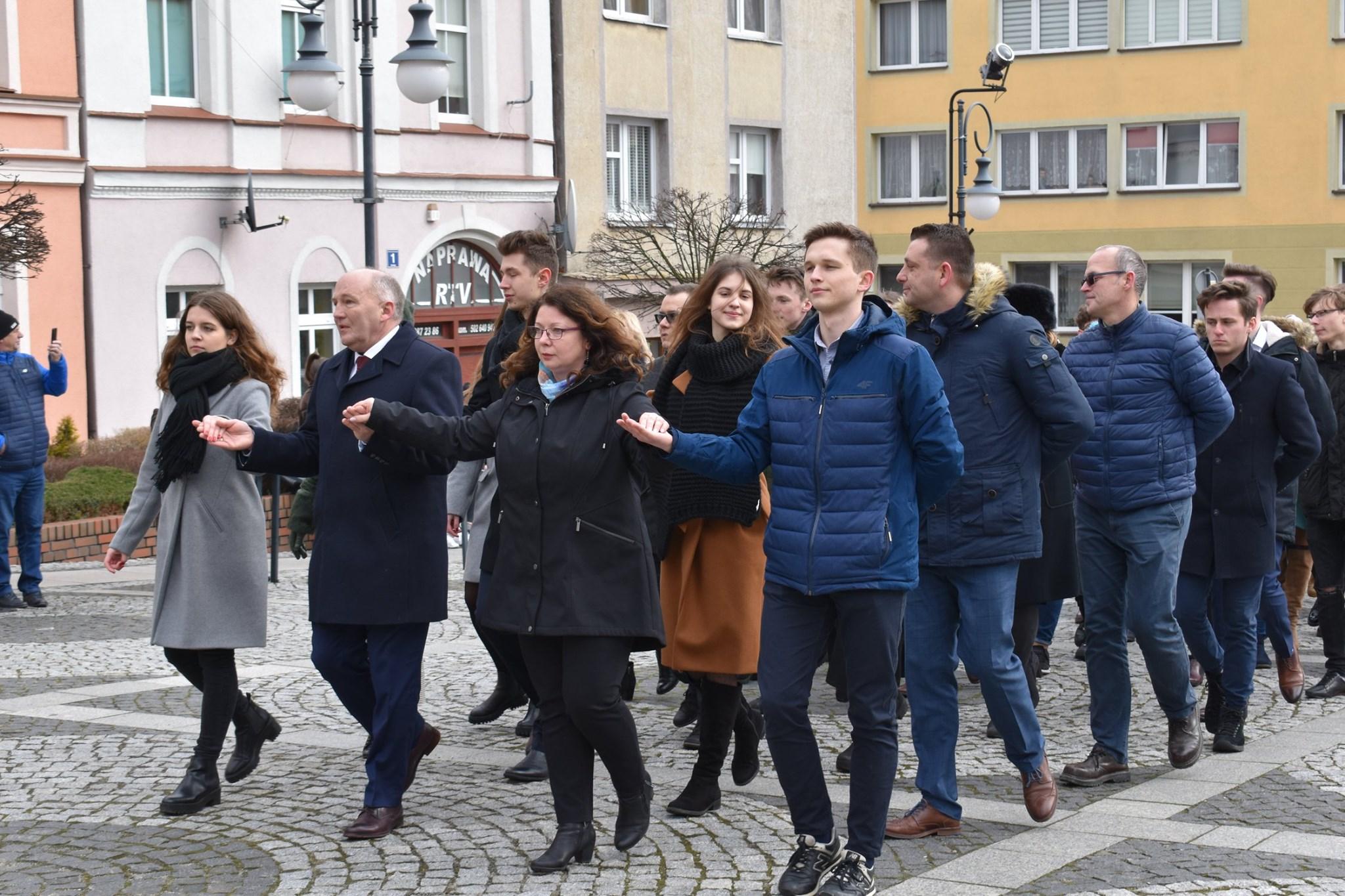 XI Polonez Maturzystów Powiatu Trzebnickiego
