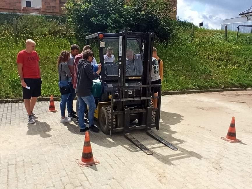 Kurs operatora wózka widłowego